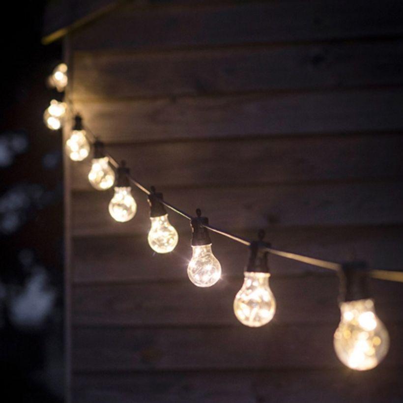 L'été indien - Guirlande lumineuse 10 ampoules guinguette