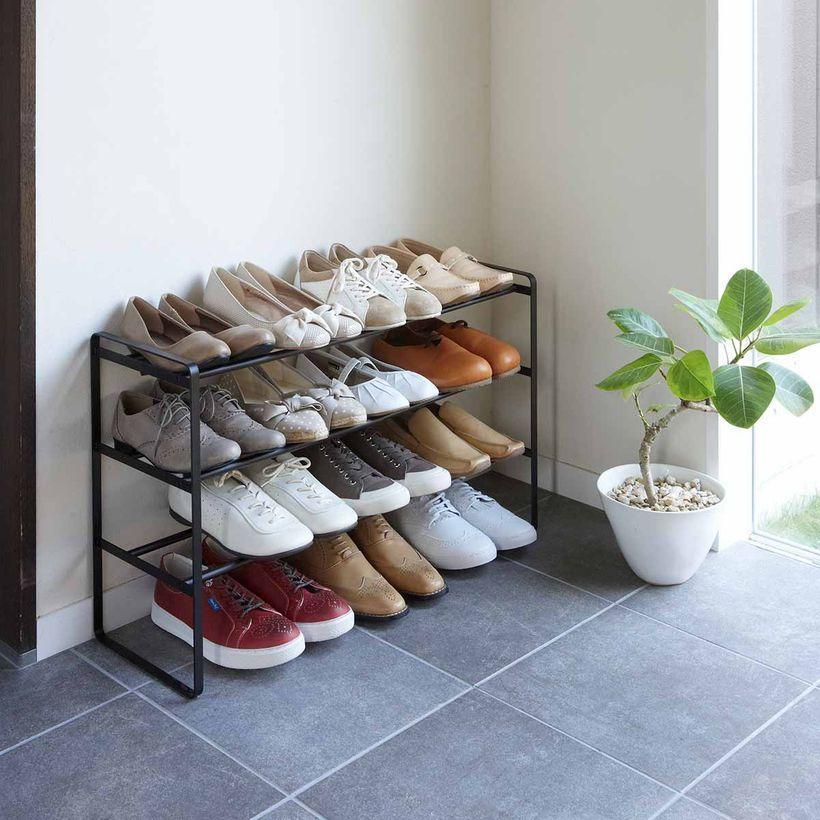 meuble de rangement - Rangement à chaussures largeur extensible