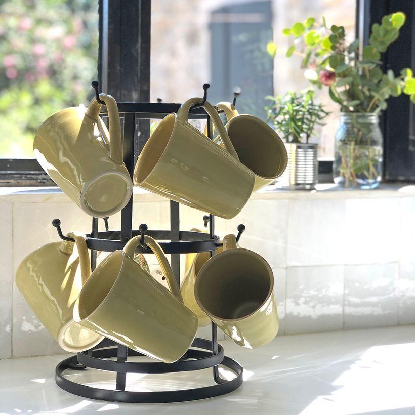 Arbre à mugs / porte-tasses à poser